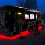 Awesome under-glow lighting...our Game Truck is amazing!