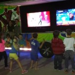 Get up and dance!  Our outside TV's rock!
