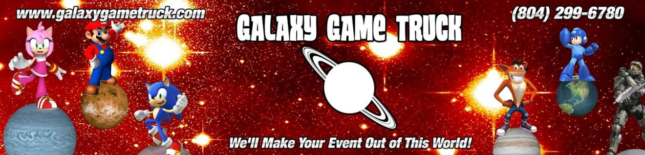 Galaxy Game Truck – Video Game Truck – Best Birthday Party Idea in Richmond, VA