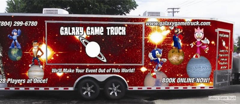 Galaxy Game Truck
